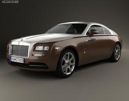 3D Rolls-Royce Wraith 2014