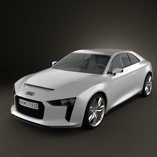 Audi Quattro Concept 2012 3d Model Cgtrader