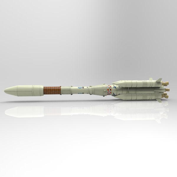 Ariane 4 studio max 3d model max pdf for 3d studio max models