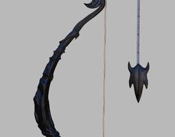 3D Fantasy bow