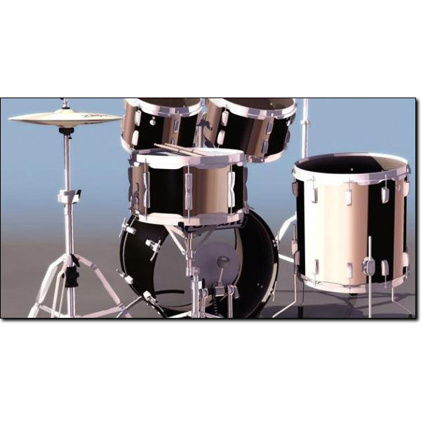 how to make a drum set with household items