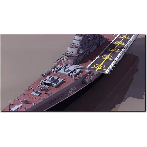 kiev russian aircraft carrier studio max 3d model max pdf 1