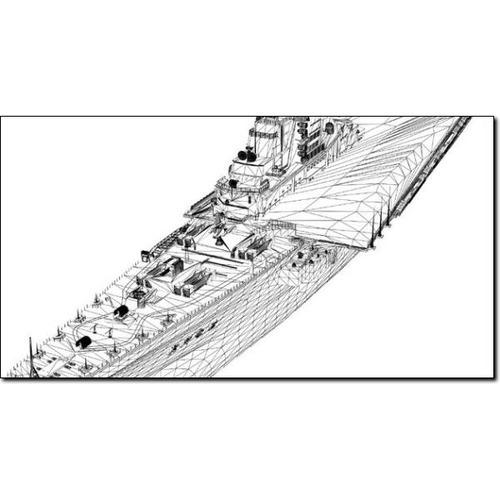 kiev russian aircraft carrier studio max 3d model max