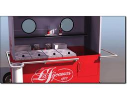 Ice Cream Trolley Studio Max 3D Model