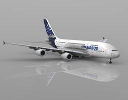 3D Airbus A380 Vue