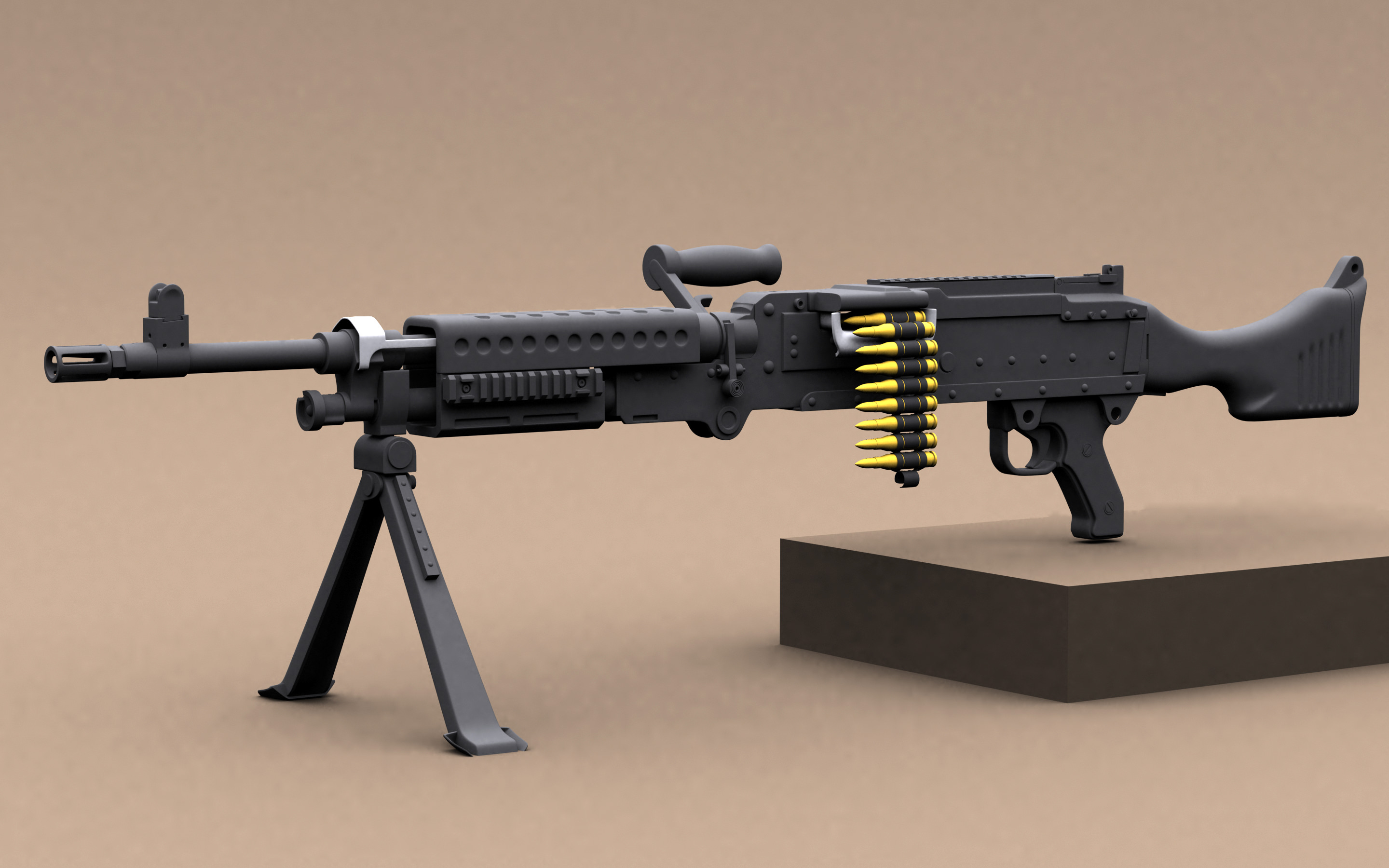 the m240b the weapon of the Military further reading once the soldier understands the weapon the m240b is carried loaded with the bolt locked to the rear in tactical situations where.
