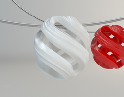 Necklace Ornament 002 3D printable model