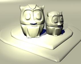 3D print model Love Owls