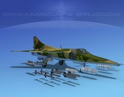 3D model MIG-27 Flogger V01 USSR