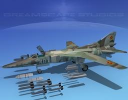 Mig-27 Flogger  V11 Kazakhstan 3D Model
