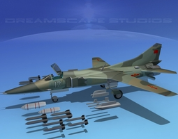 3D model Mig-27 Flogger V22 China
