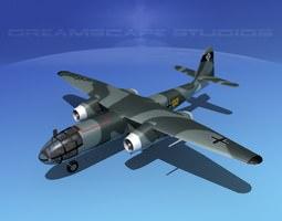 3D model Arado AR 234B Blitz V03