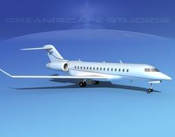 Global Express 8000 V14 3D model