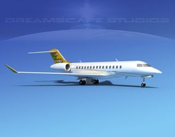 Bombardier Global 5000 V01 3D