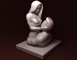 3d print model the love is young