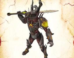 Bleck Knight for Poser 3D