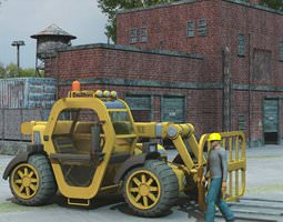 Supa Lifter for Poser 3D