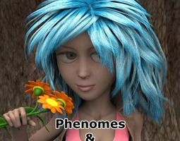 3d malvina phenomes for poser