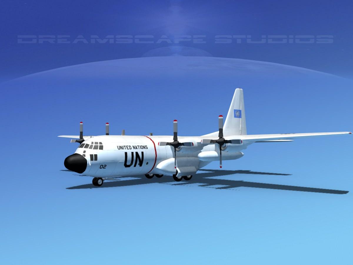 Lockheed C-130 Hercules Unated Nations