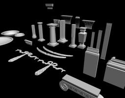 Decor elements 3D