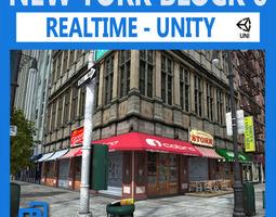 NYC Block 6 Unity 3D Model