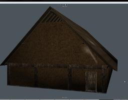 Wikingerhaus fbx 3D asset