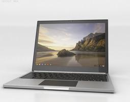 google chromebook pixel 3d model max obj 3ds fbx c4d lwo lw lws