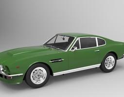Aston Martin V8 Vantage 1977 3D Model