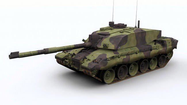 c6e2ddabcada challenger 2 british army tank 3d model low-poly max obj mtl 3ds fbx c4d ...