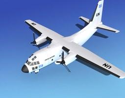 Alenia C-27A Spartan UN 3D model