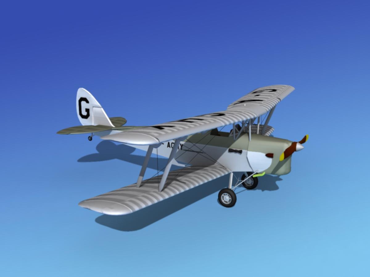 Dehavilland DH-82 Tiger Moth V01