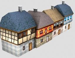 Medieval street 3D model