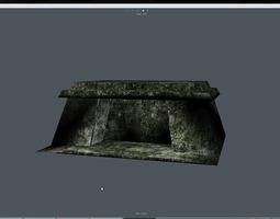 3D asset Old little outpost