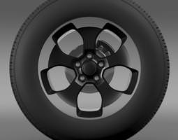 jeep wrangler polar 2014 wheel 3d model max 3ds fbx c4d lwo lw lws ma mb