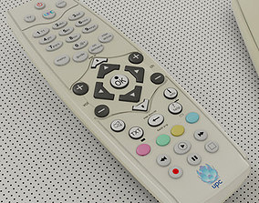 Remote Control TV - UPC 3D model