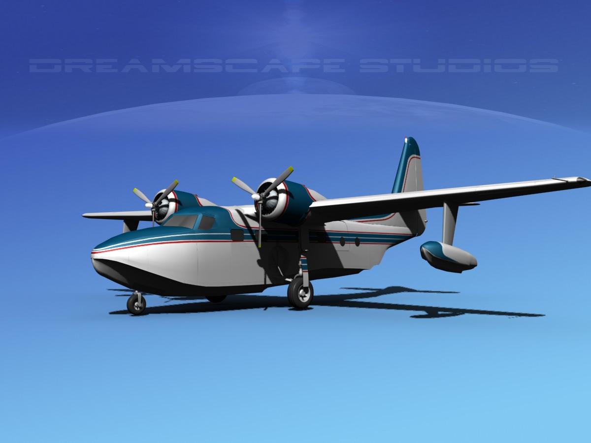 Grumman G-73 Mallard V07
