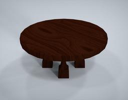 Table 3D model VR / AR ready