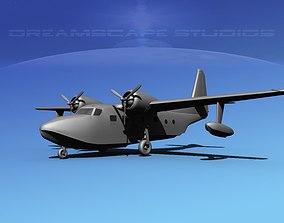 Grumman G-73 Mallard VBM 3D