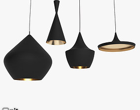 3D model Beat Light set by Tom Dixon