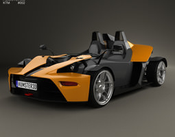 3D model KTM X-Bow 2012