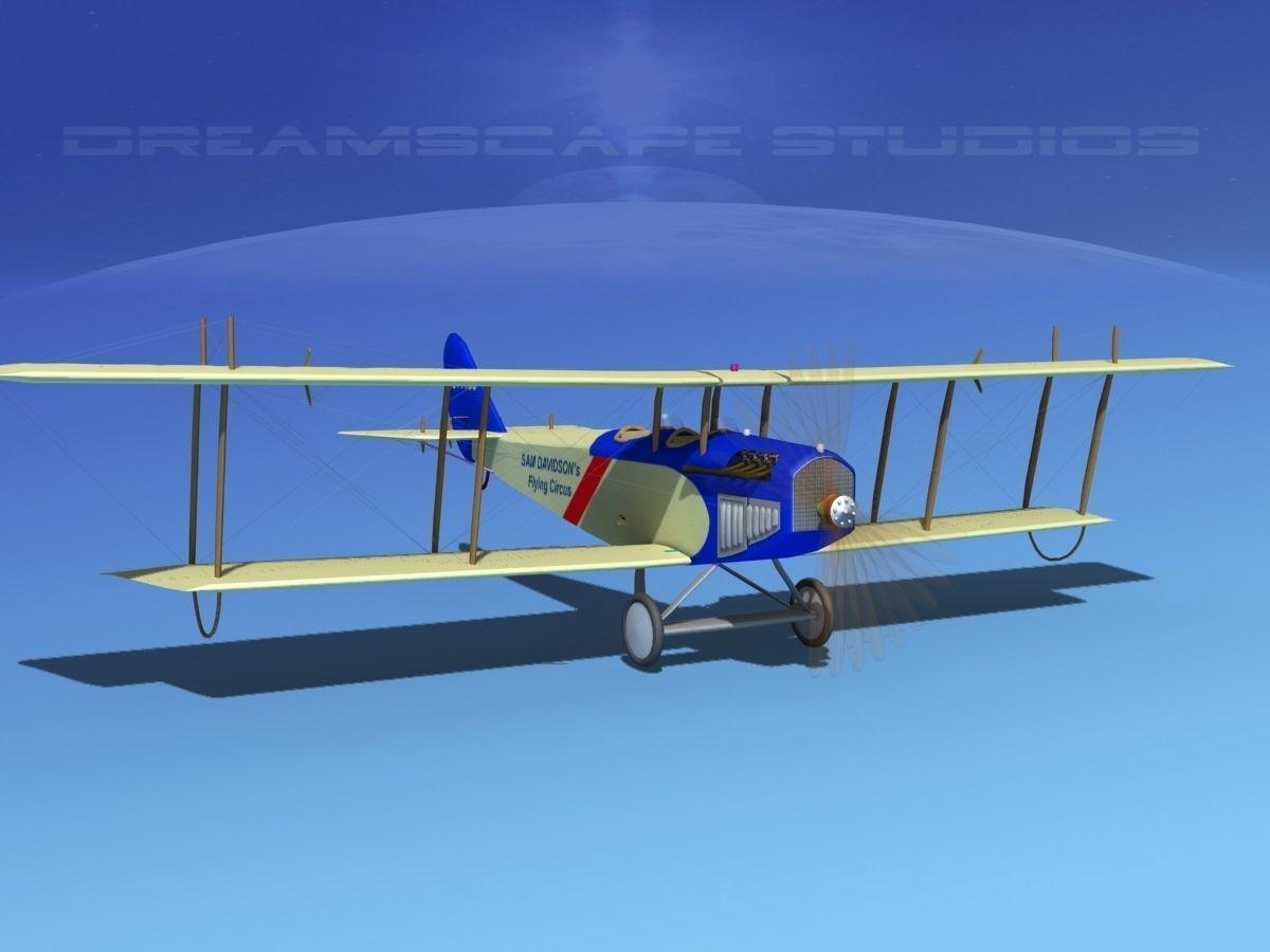 Curtiss JN-2 Jenny V10 Flying Circus