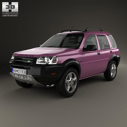 1997 Land Rover Discovery Interior: Land Rover Freelander 5-door 1997 3D Model