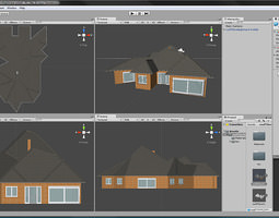 3d asset rooftilersnightmare unitypackage with prefab
