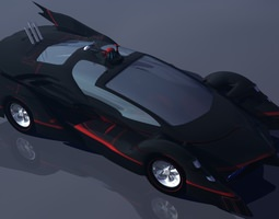 batmobile prototype 2014 3d printable model