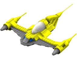 3d rigged modular brick n1 poser