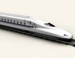 Shinkansen N700 3D model