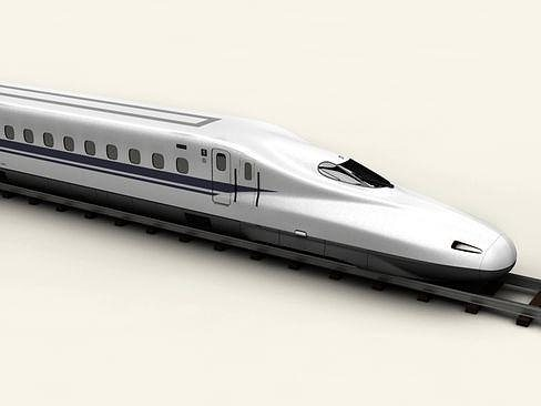 shinkansen n700 3d model max obj mtl 3ds c4d lwo lw lws ma mb 1