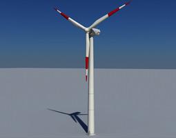 3D model Wind Turbine Land