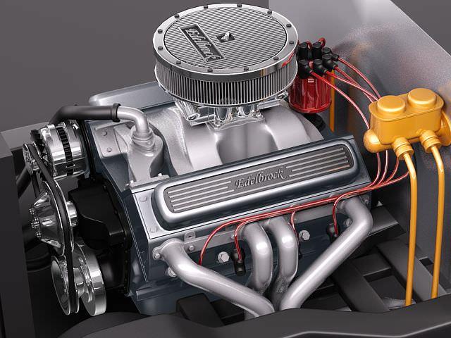 Edelbrock Crate Engine V8