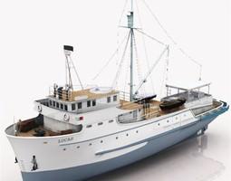 3D model Tuna Clipper Poser Vue